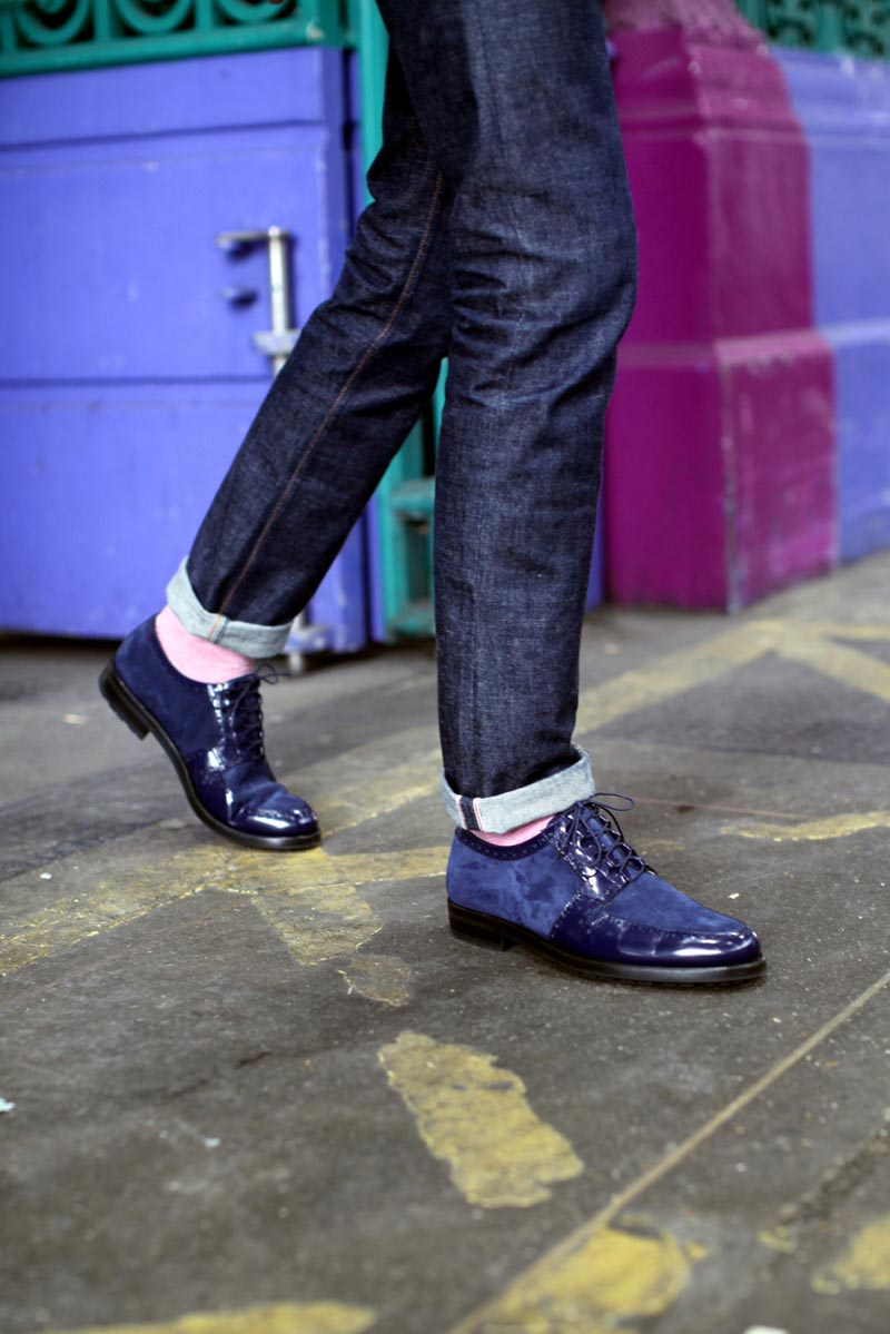 Dapper Report vol.9 19 blue patent
