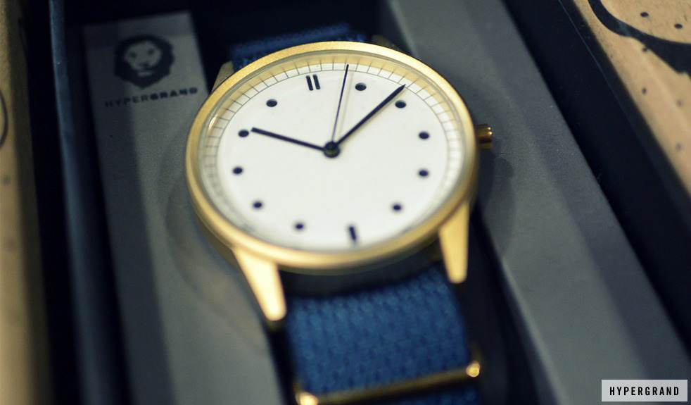 HyperGrand minimalistic watch