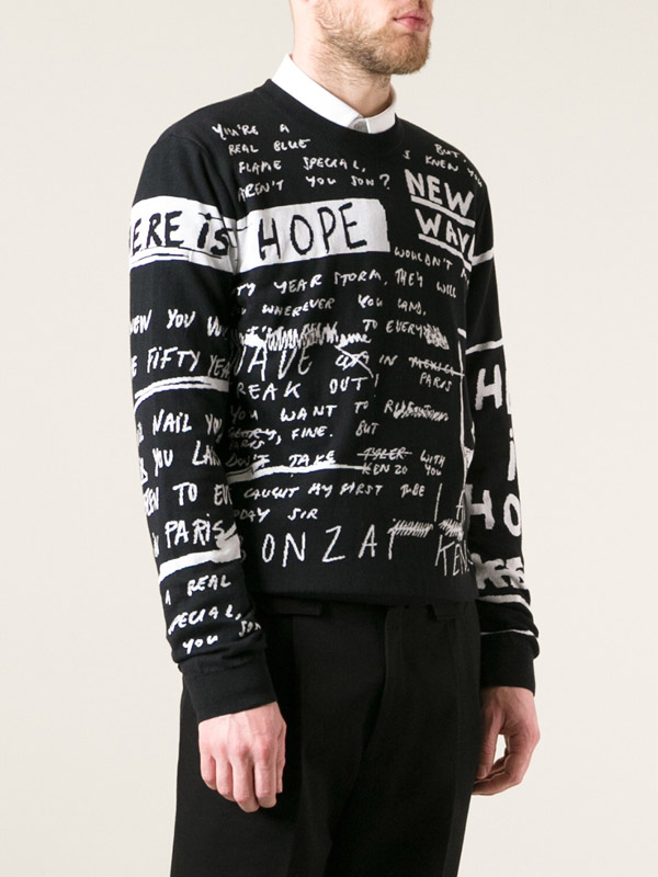 Kenzo Scribbled Print Sweatshirt 2