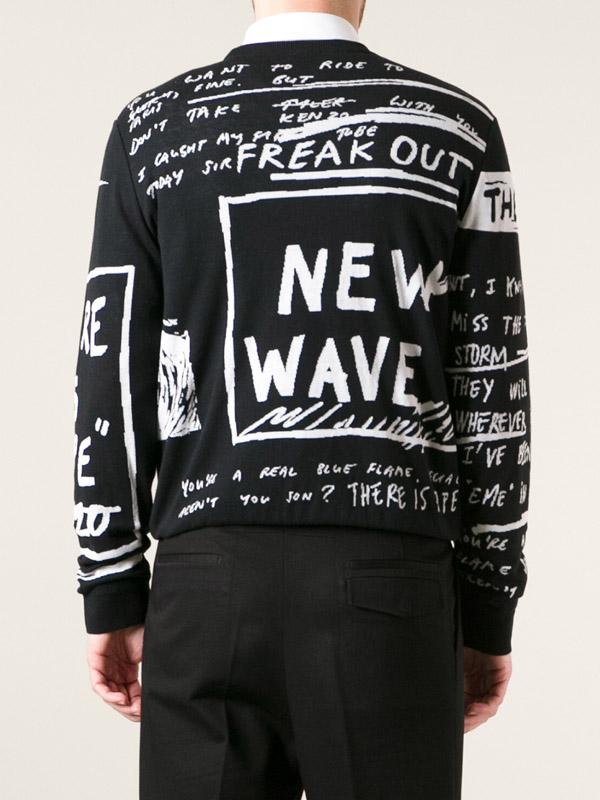 Kenzo Scribbled Print Sweatshirt 3