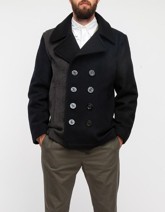 Multi Paneled Pea Coat