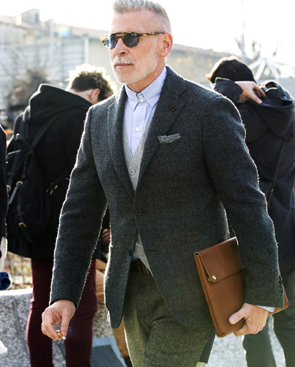 Nick Wooster Pitti Uomo wool jacket