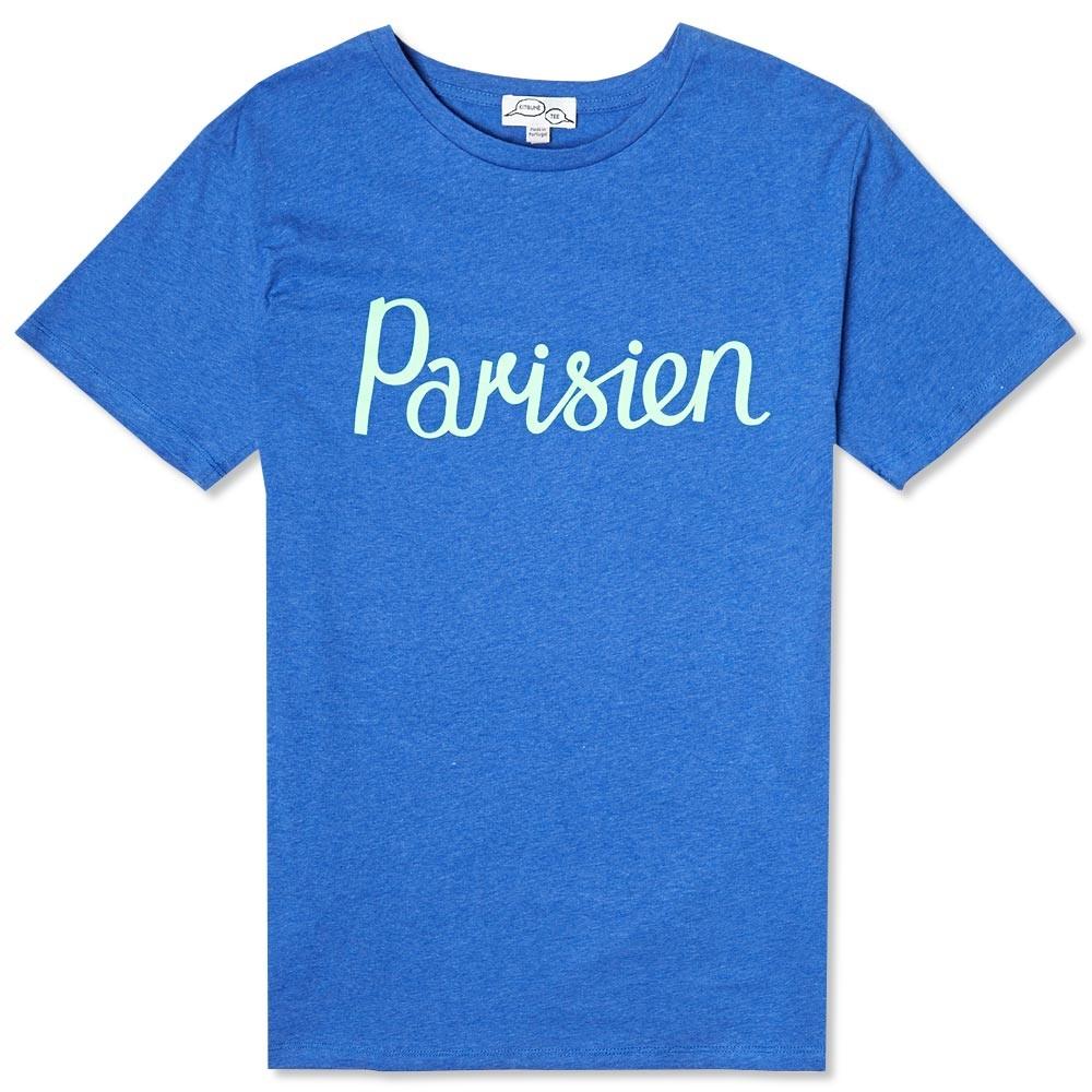 Parisien Kitsune Blue Tee