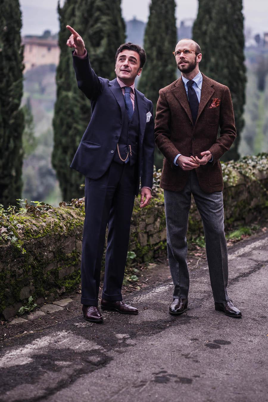 Simon Crompton in his Satoria men in suits
