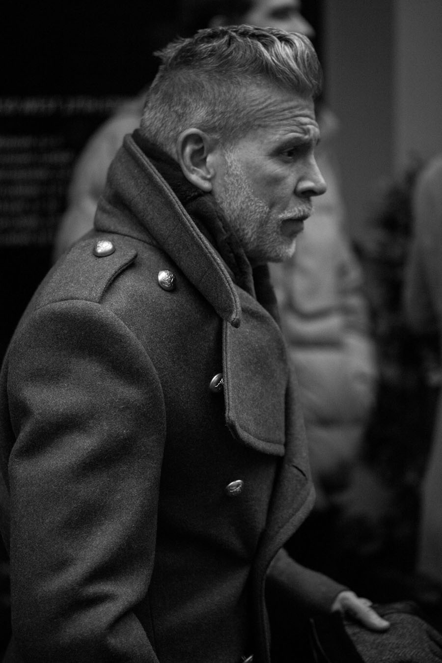 Nick Wooster black & white photogrpahy