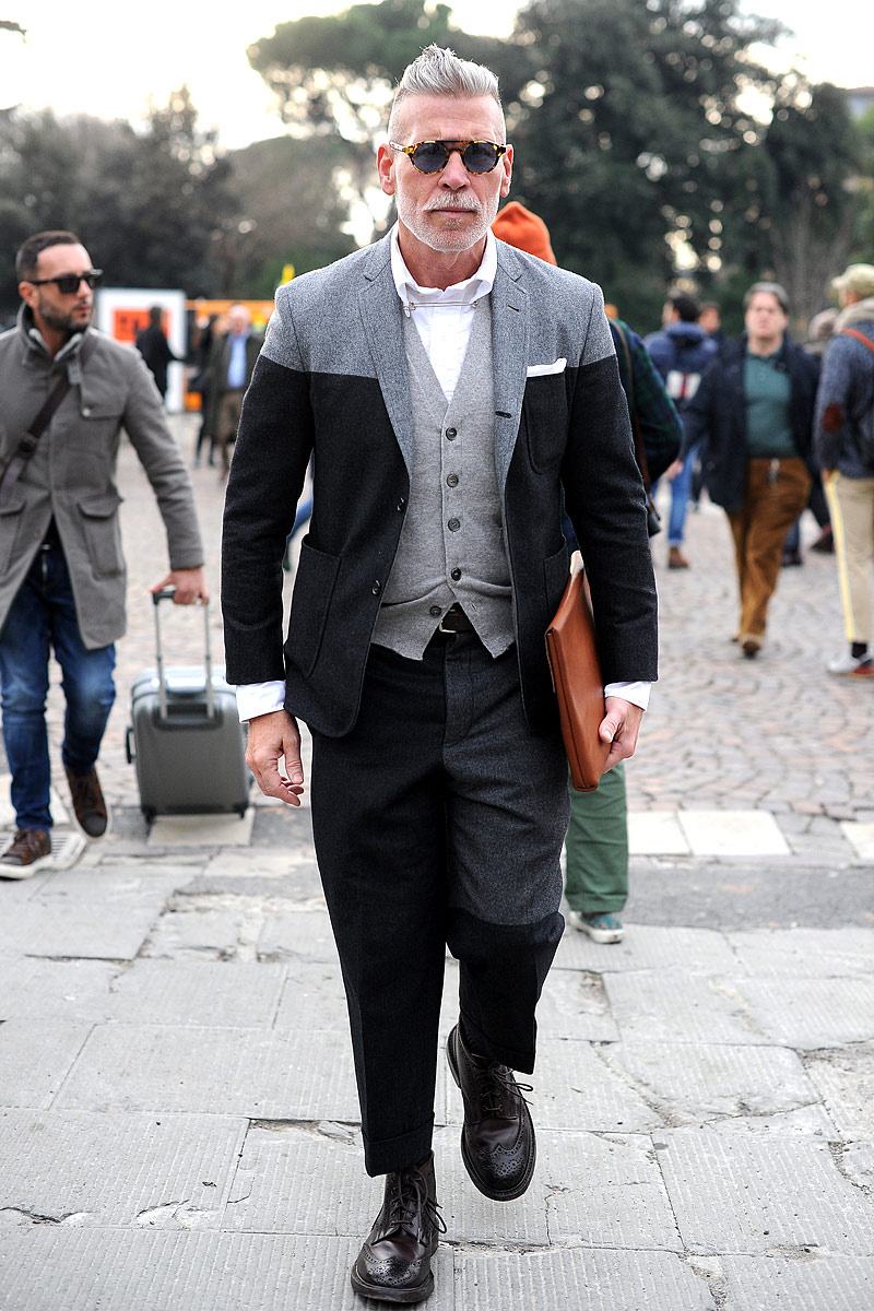 Nick Wooster Marches On streetstyle