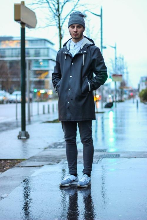 Raincoat Streetstyle Soletopia