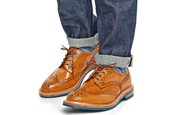 Tricker's for End. spring 2014 footwear collection 1