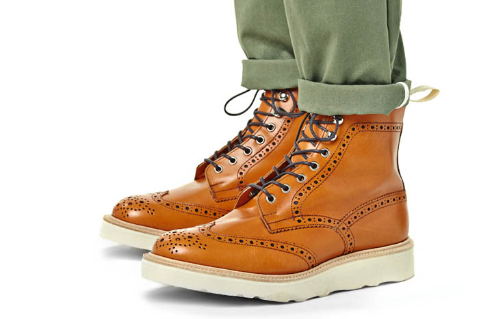 Tricker's for End. spring 2014 footwear collection 2