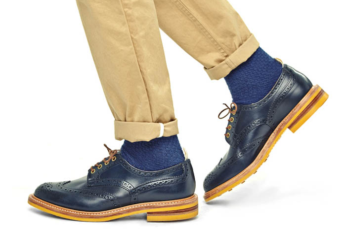 Tricker's for End. spring 2014 footwear collection 3