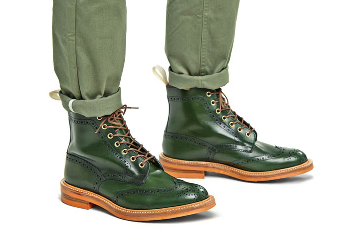 Tricker's for End. spring 2014 footwear collection 4