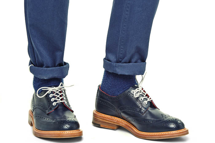 Tricker's for End. spring 2014 footwear collection 5