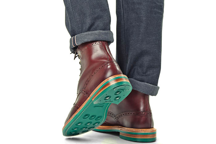 Tricker's for End. spring 2014 footwear collection 6