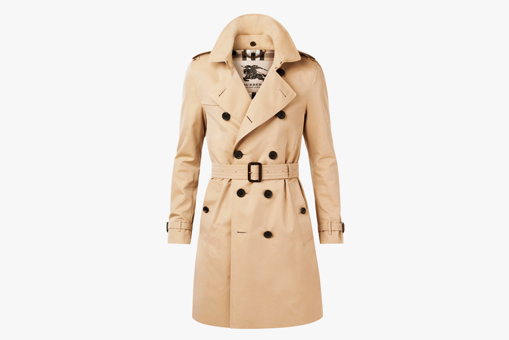 Classic Burberry Trench Coat beige