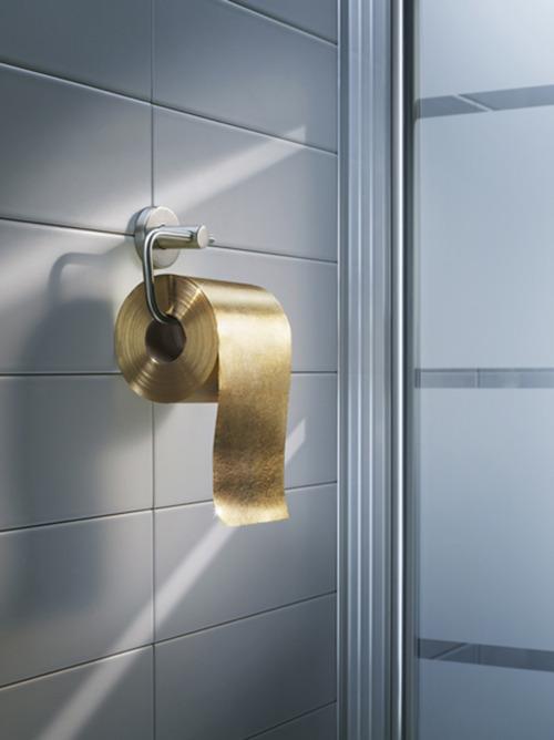 Dapper Report vol.10 40 gold toiletpaper