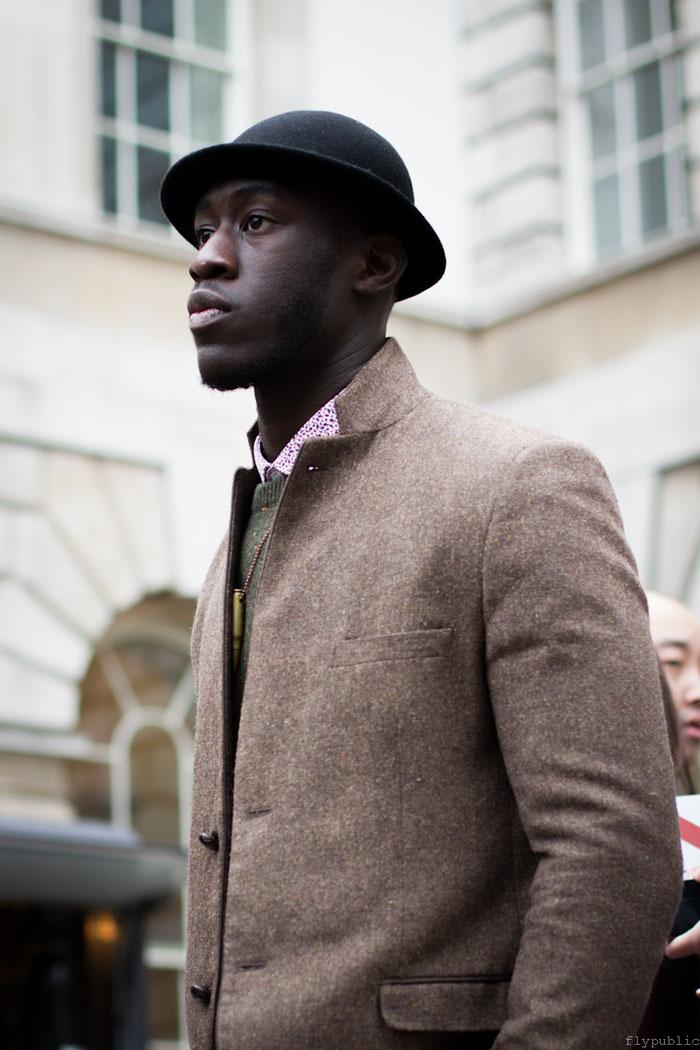 Gideon at London Men's Fashion #streetstyle