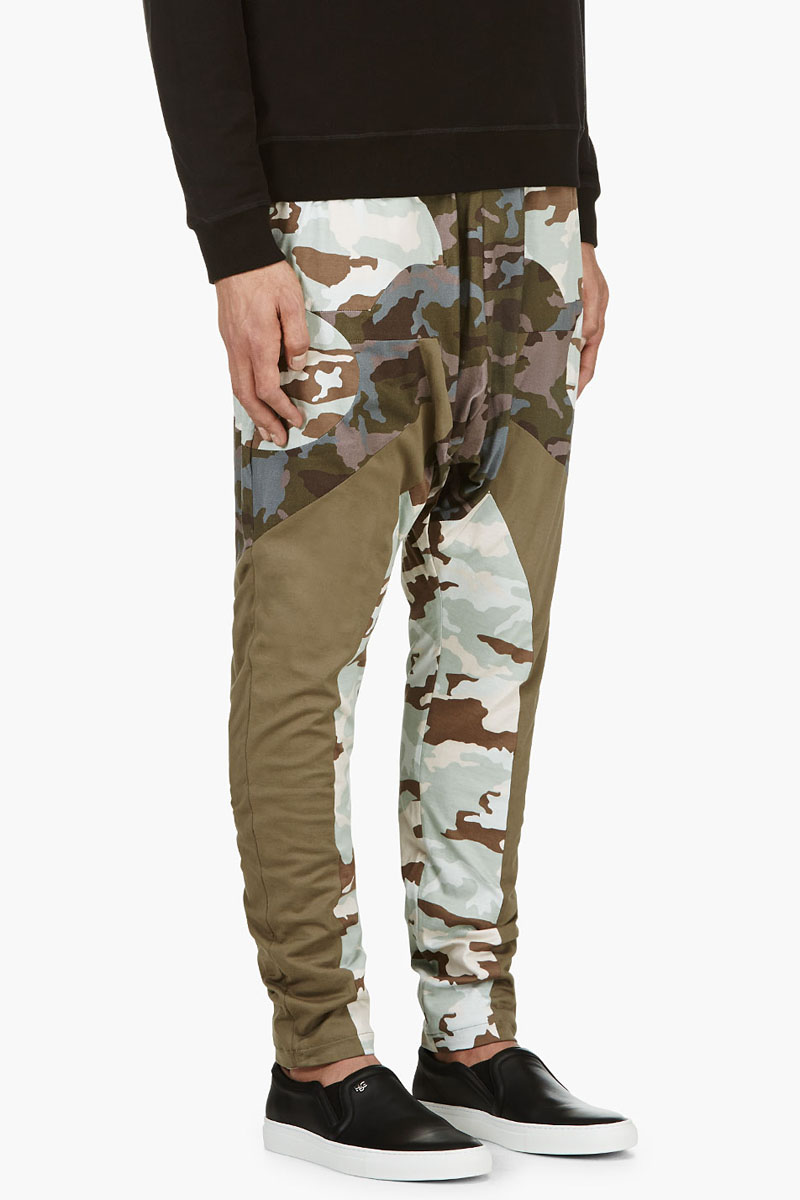 Givenchy Camo Low Crotch 1