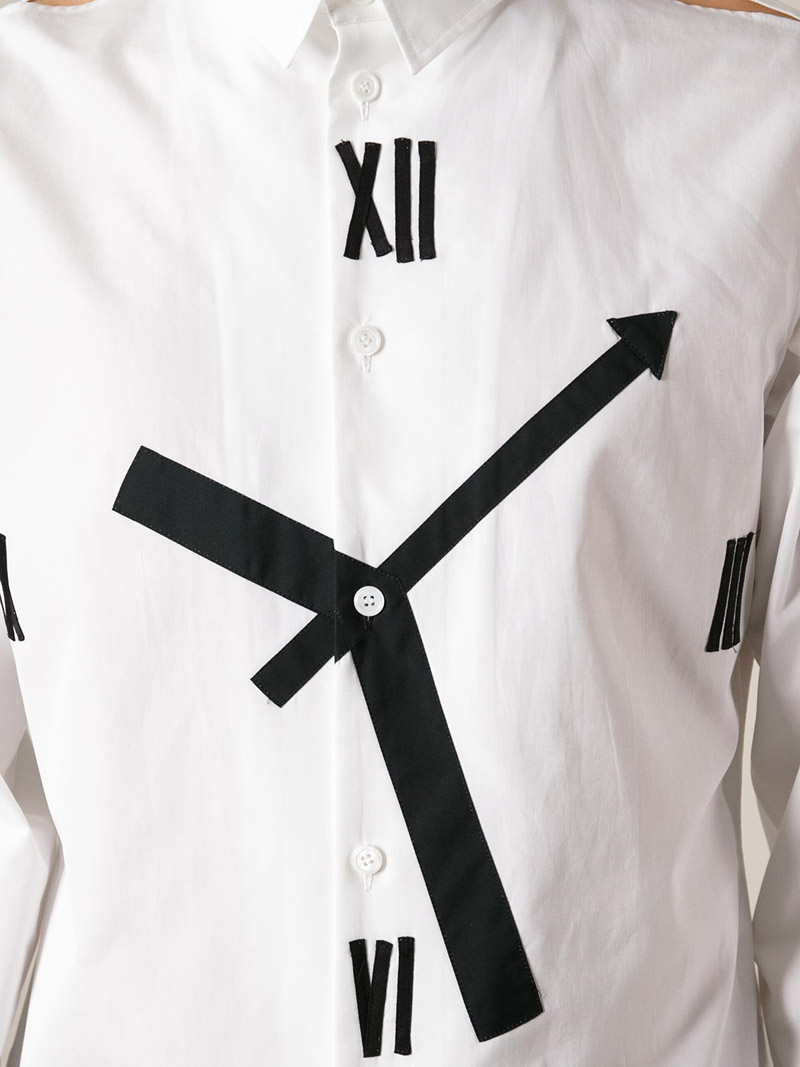 Incredible Clock Face Shirt Men's Fashion