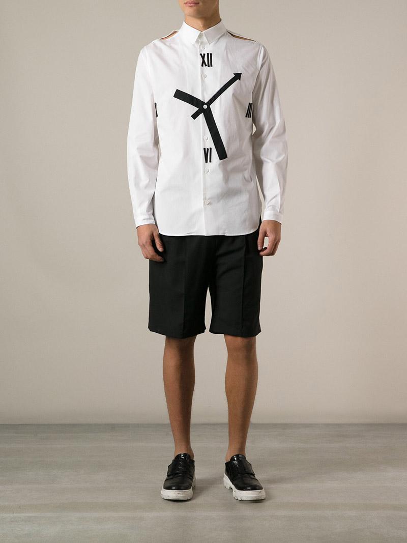 Incredible Clock Face Shirt men's style