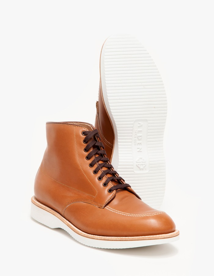 White Sole Alden Boot Indy Seven Hills 5