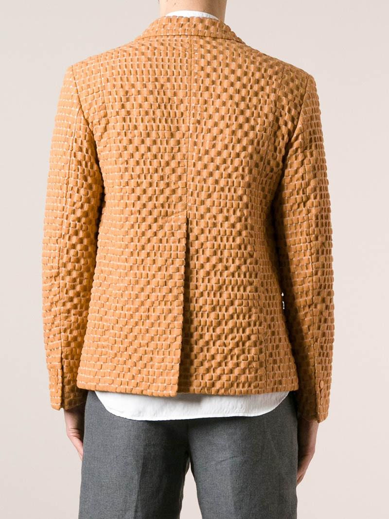 Mens Textured Blazer Hardon Clothes