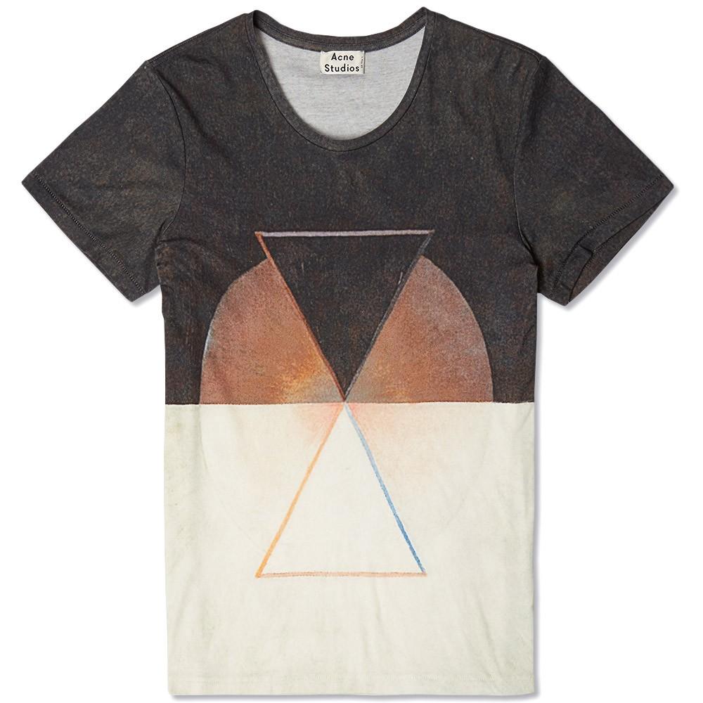 ACNE Triangle Tee for streetwear