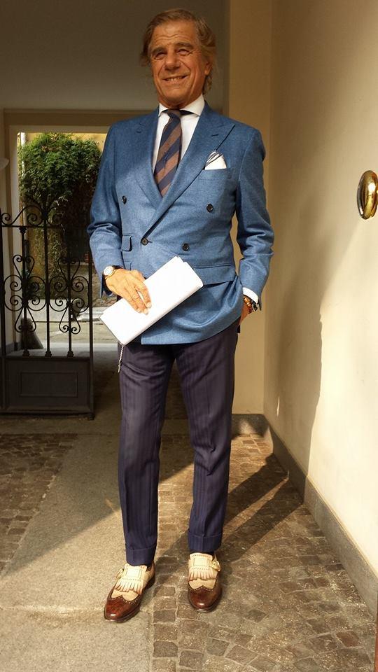 Lino Ieluzzi non matching suit