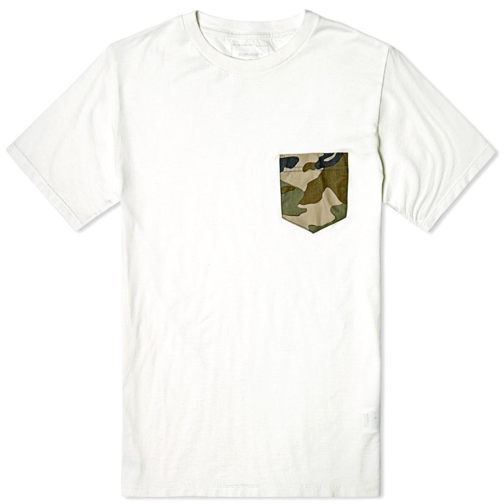 Camo Pocket t-shirt by SOPHNET.