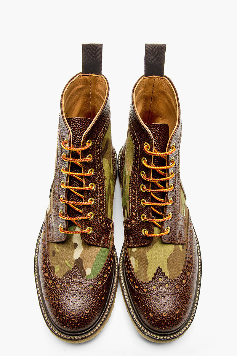 Camo Short Wing Boot, Mark McNairy 1