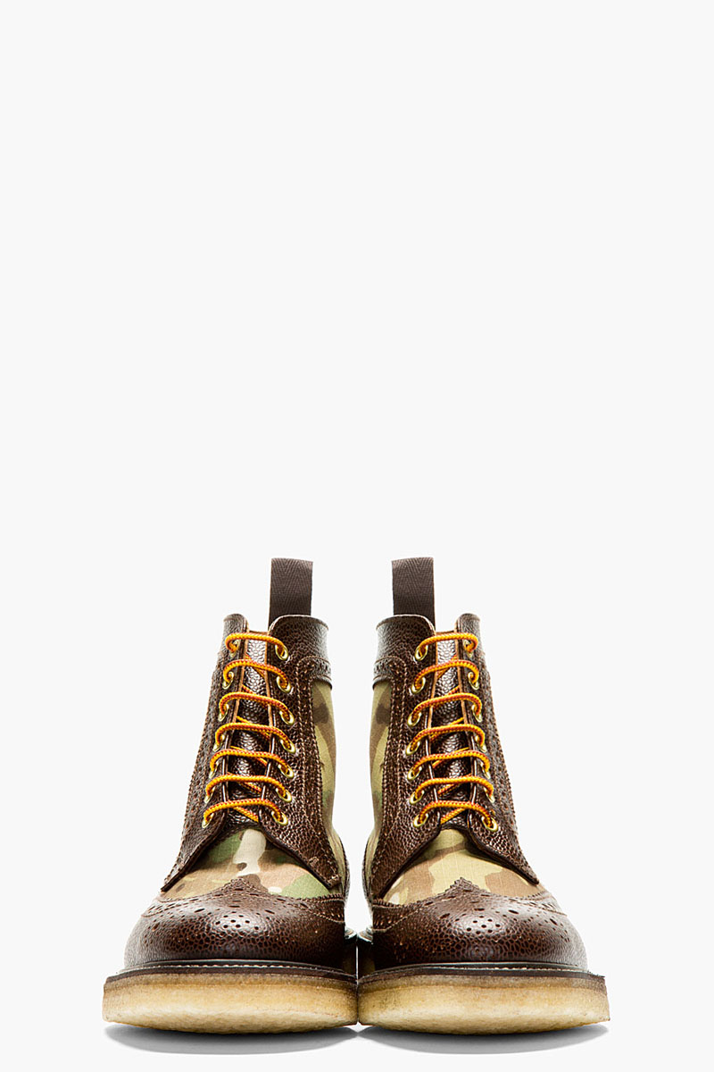 Camo Short Wing Boot, Mark McNairy 2