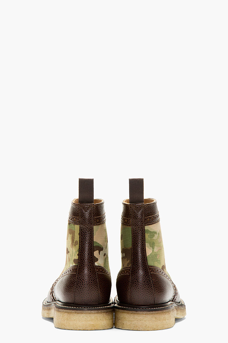 Camo Short Wing Boot, Mark McNairy 3