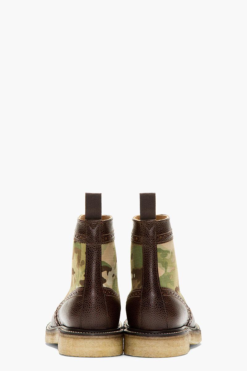 Camo Short Wing Boot, Mark McNairy 3