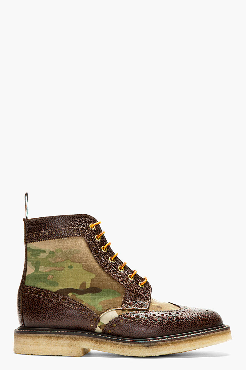 Camo Short Wing Boot, Mark McNairy 4