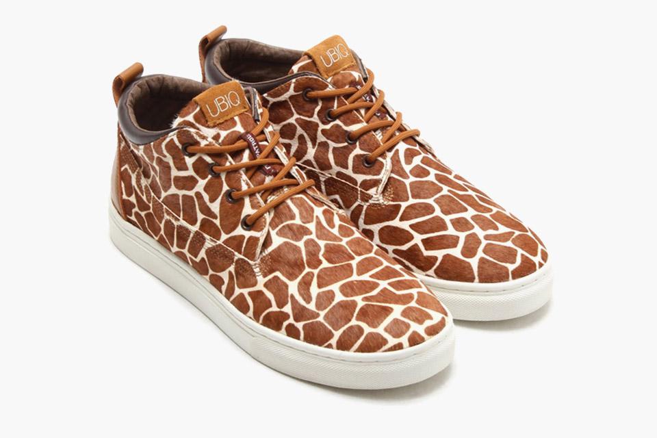 Giraffe Print Sneakers Ubiq x Foot Patrol 2