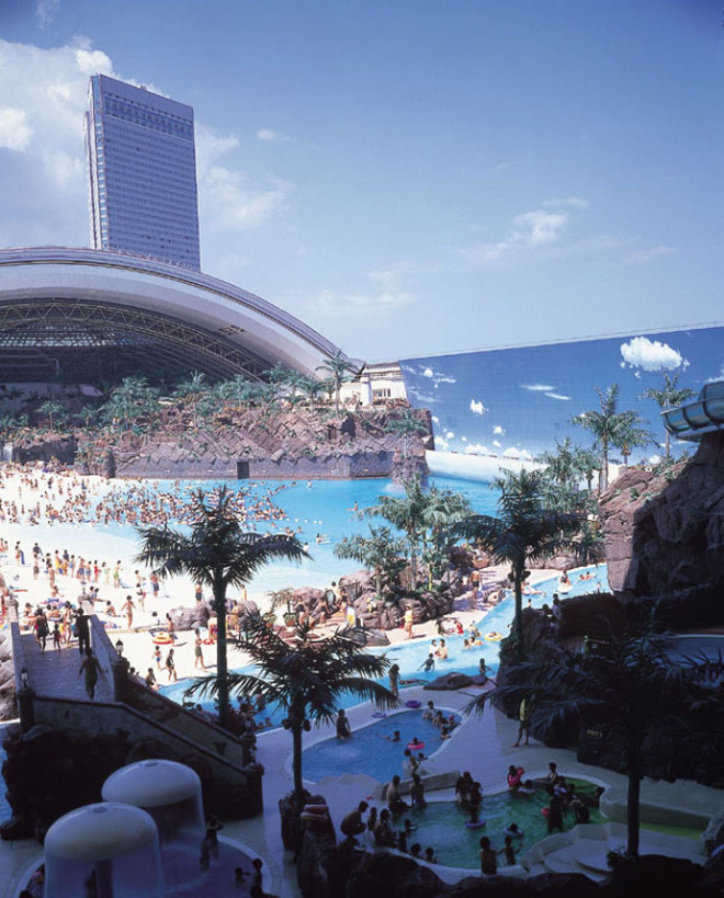 Japan's Super Terrific Indoor Beach 2