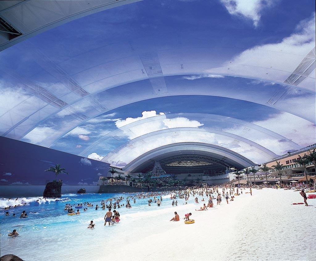Japan's Super Terrific Indoor Beach 4