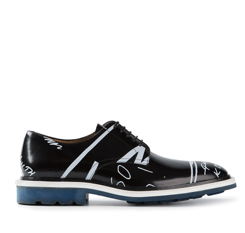 Kenzo Printed Derby crazy shoes 1