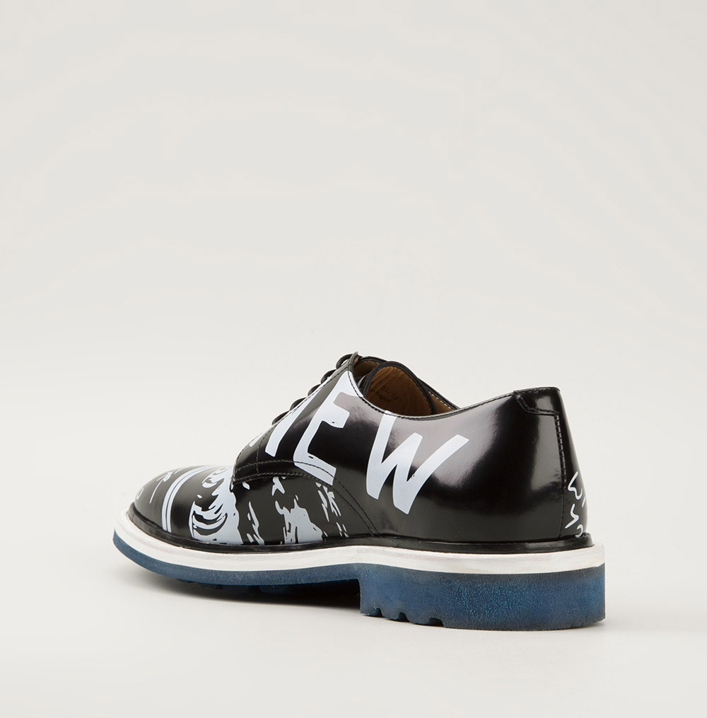 Kenzo Printed Derby crazy shoes 2