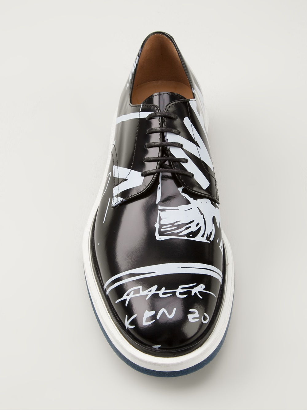 Kenzo Printed Derby crazy shoes 3