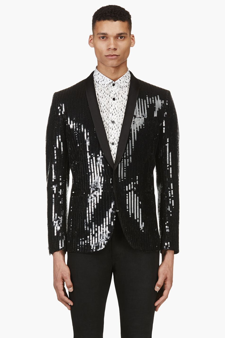 Sequined Mens Blazer 1