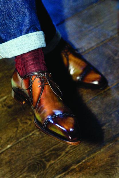Sick Men's Leather Shoes