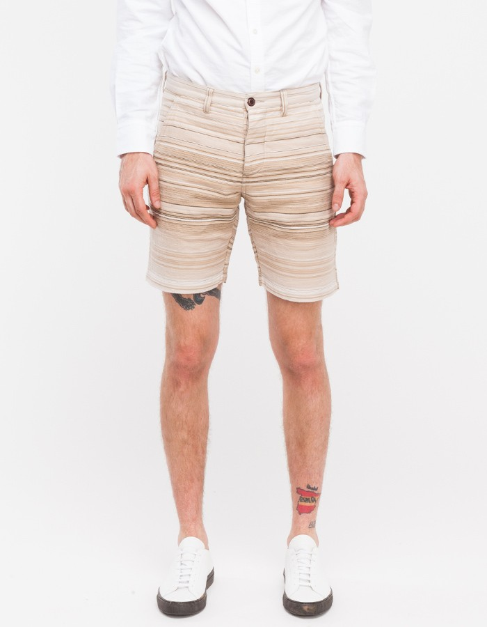 Striped Shore Shorts Sakiori wings + horns 1