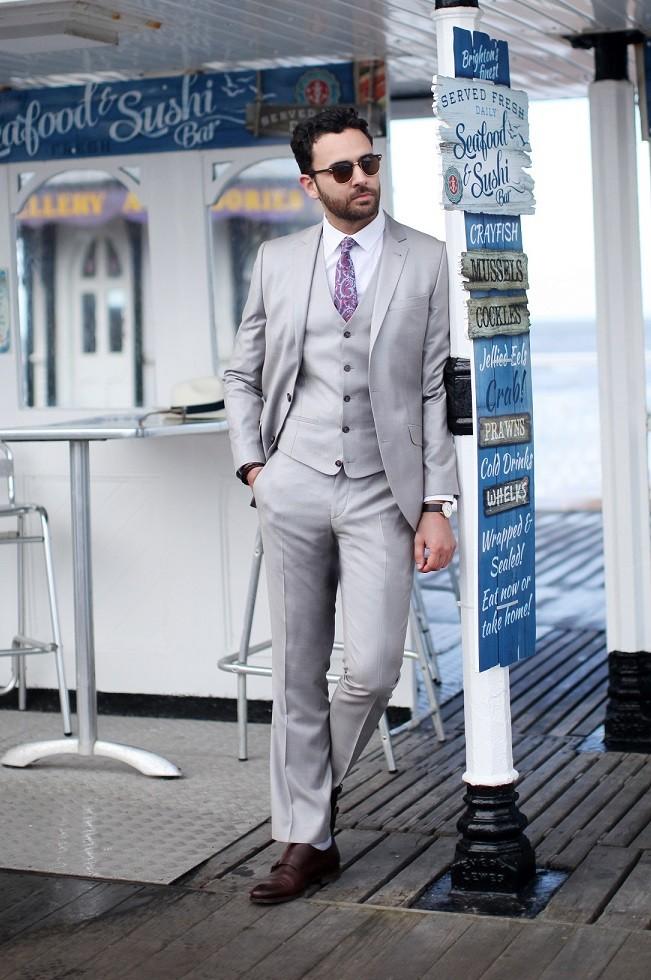 Bespoke Suit Lean menswear