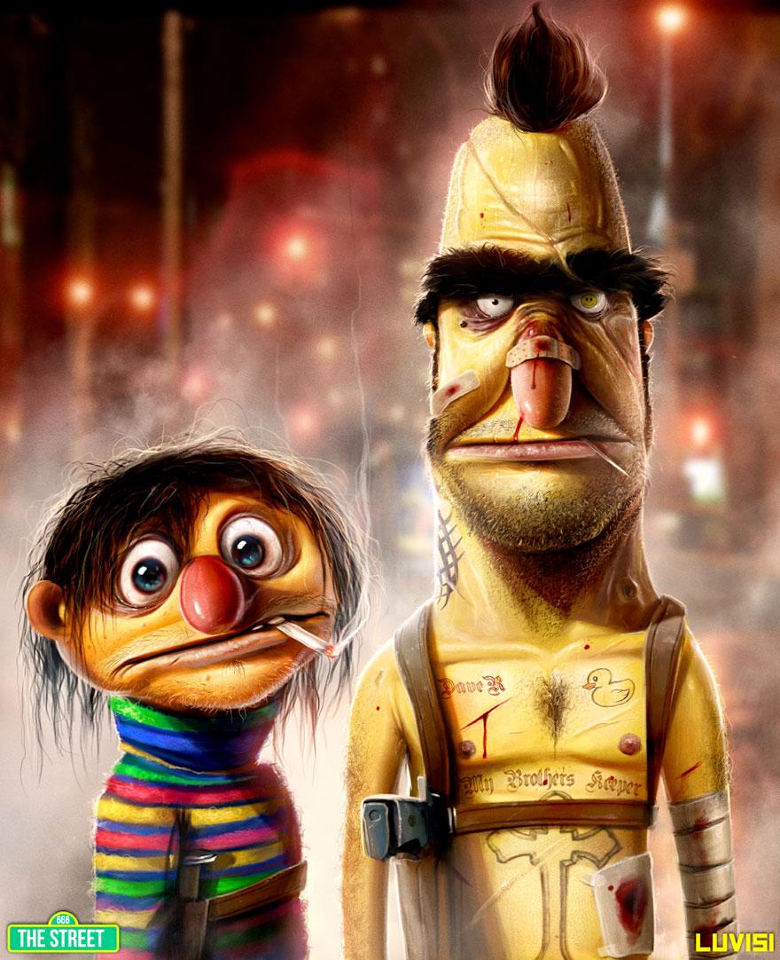 Criminal Bert & Ernie
