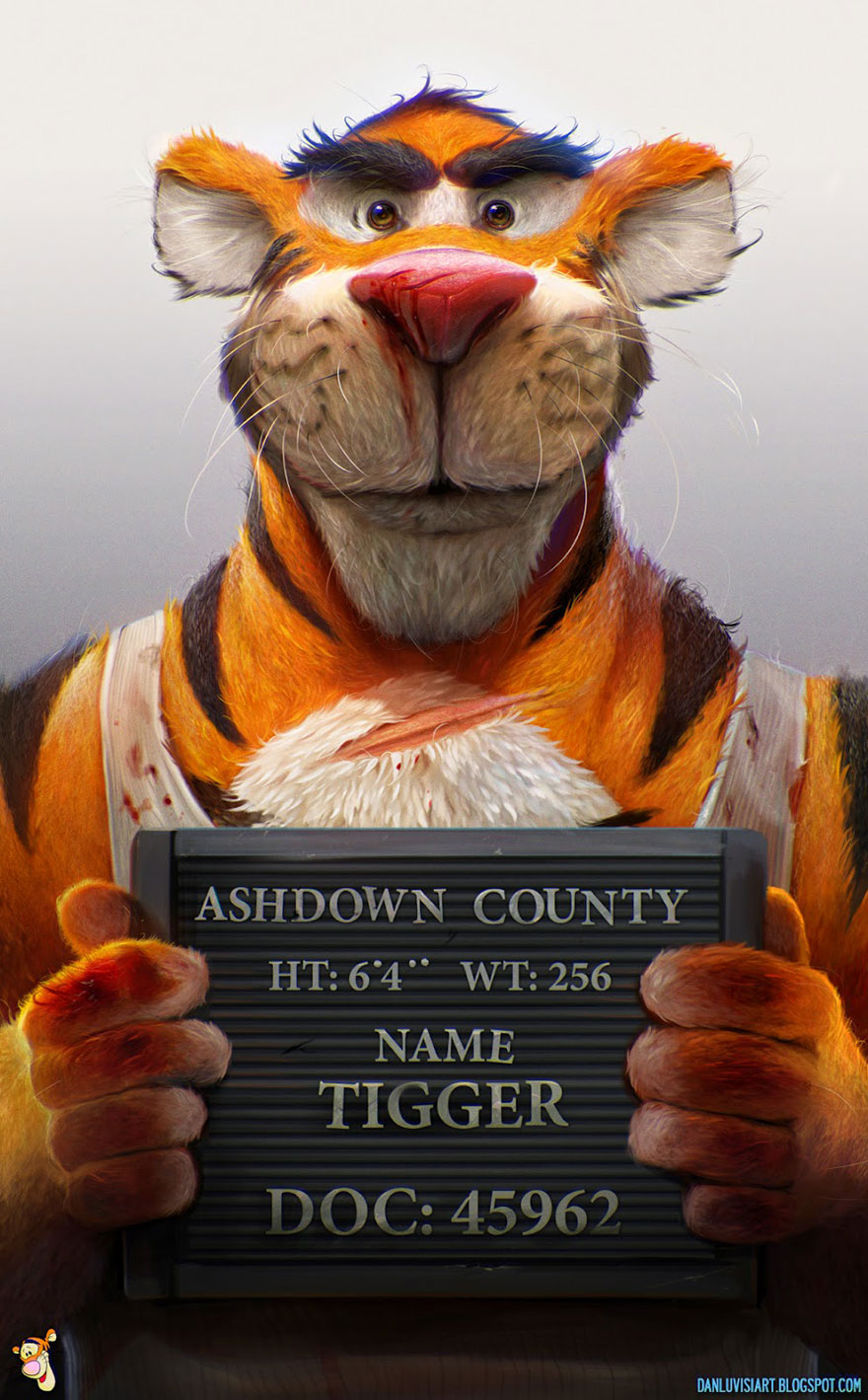 Dan LuVisi Tigger prison mugshot