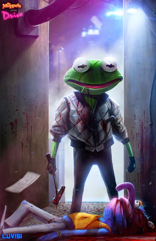Driver Kermit Frog Gonzo