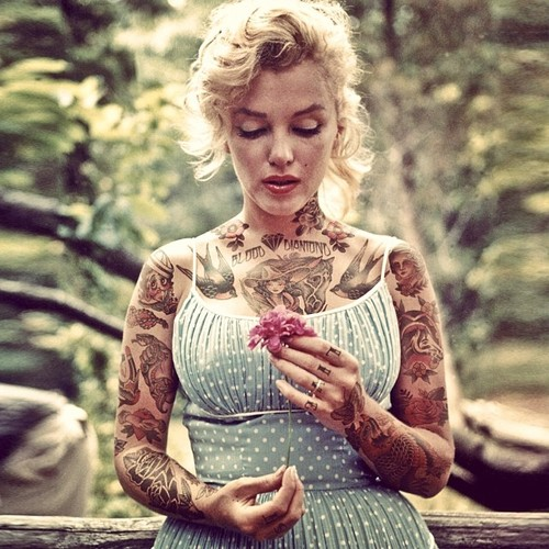 marilyn-monroe-tattoos