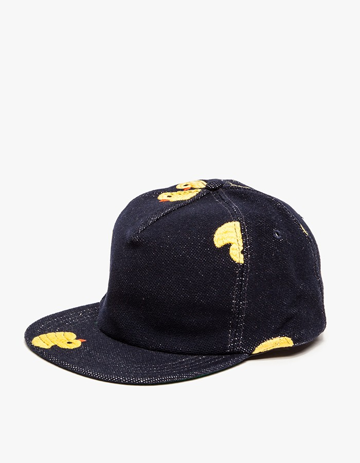 Mark McNairy Duckie Cap, navy wool blend