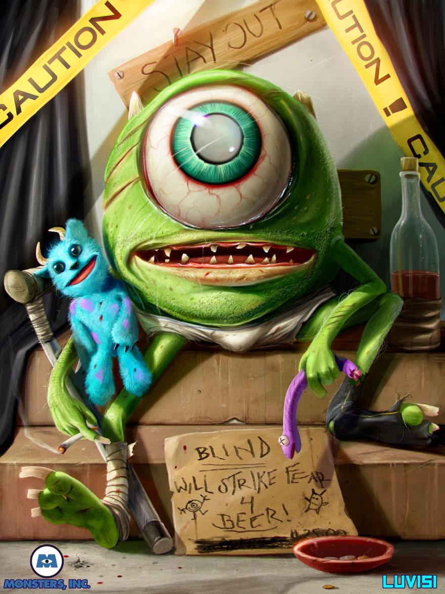 Monster Inc. Creepy
