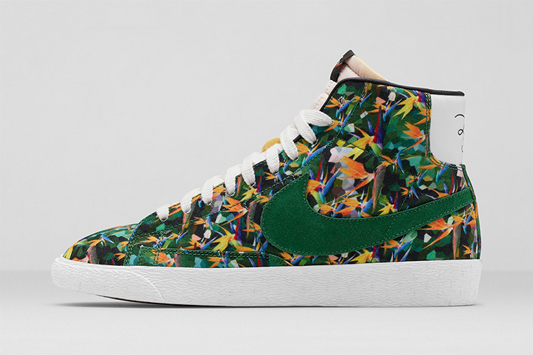 Nike Blazer World Tour Floral Pack 'Birds of Paradise' LA